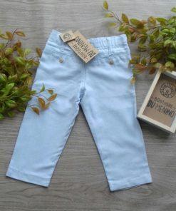 calça azul bebe